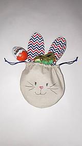 Detské tašky - Vrecúško na veľkonočnú výslužku - 10551809_