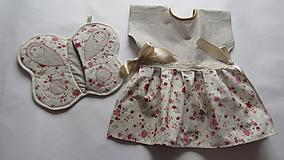 Úžitkový textil - Set utierka + chňapka - 10551850_