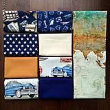 Textil - Darčekový box s bavlnenými látkami WANDERLUST - 10550890_
