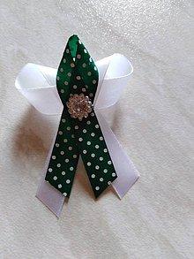 Pierka - Greenery svadobné pierka - 10550664_