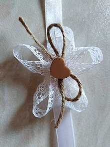Pierka - Vintage štýl - náramky pre družičky - 10550744_