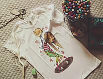 Tričká - Moja Maminka/ dámske tričko - 10551268_