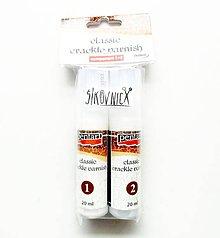 Farby-laky - Krakelovací lak, dvojkrokový (20+20 ml) - 10550100_