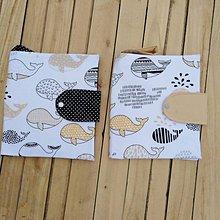 Detské doplnky - Plienkovník veľryba - 10551691_
