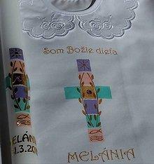 Detské doplnky - krstový set Amanda - 10550903_