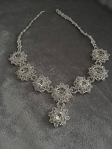 Náhrdelníky - Swarovski náhrdelník Crystal Stars - 10551901_