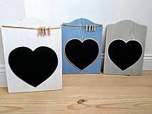 Tabuľky - Tabuľa na písanie modrá - 10551893_