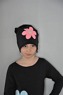 Detské čiapky - Čiapka Bella - 10551174_