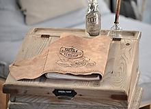 Papiernictvo - kožený cestovateľský denník HARLEY - 10549206_