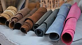 Suroviny - Zbytky koží - väčšie kusy - 10550621_