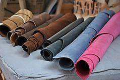 Suroviny - Zbytky koží - väčšie kusy - 10550623_
