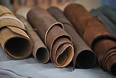 Suroviny - Zbytky koží - väčšie kusy - 10550628_