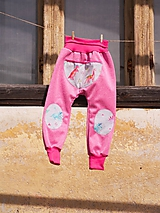 Detské oblečenie - Softshellky do škôlky - 10550246_
