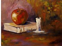Obrazy - Jablko - 10552145_