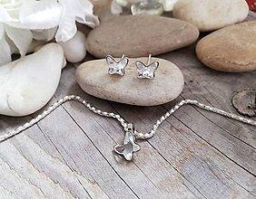 Sady šperkov - Swarovski motylik - 10552719_