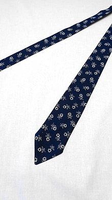 Doplnky - Pánska folková kravata