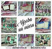 Dekorácie - Fotorámček - Výročie sobáša - 10552366_