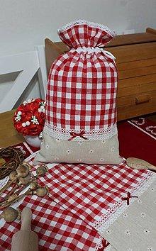 Úžitkový textil - Vidiecke vrecúška... - 10550055_