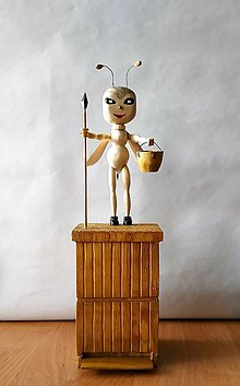 Dekorácie - Dekorácia z dreva - Darček pre môjho otca včelára - 10551660_