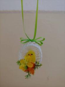 Materiál ručne robený - Háčkované vajíčka - 10551507_