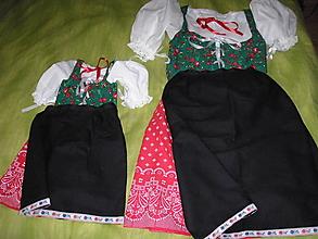 Šaty - Mama a dcérka (Oba kroje spolu) - 10550838_