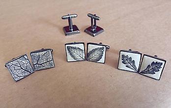 Sady šperkov - Manžety z keramiky - 10550561_