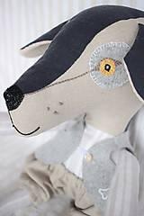 Hračky - Pes Brok ( veľkosť XL) - 10550657_