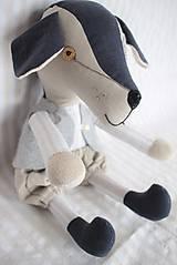 Hračky - Pes Brok ( veľkosť XL) - 10550658_
