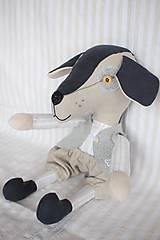 Hračky - Pes Brok ( veľkosť XL) - 10550660_
