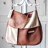 Veľké tašky - Casual leather *hobo* bag No.3 - 10550858_