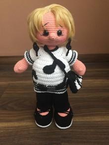 Hračky - bábika Babka-hudobníčka - 10550776_