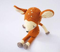 Hračky - srnček spinkáčik - 10550978_