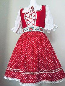 Šaty - Folklórny komplet - 10552653_