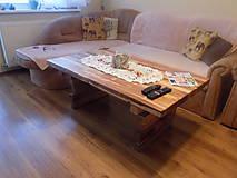 Nábytok - Masívny bukový stôl - 10550475_