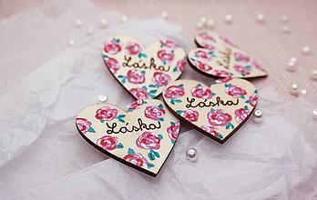 Darčeky pre svadobčanov - Brošne pre družičky - 10550295_