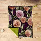 Úžitkový textil - Cesnakové a makové vrecúško - zákazka - 10549234_