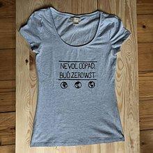 Tričká - Zero waste tričko - 10552527_