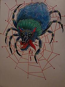 Kresby - Spiderwolf - 10551232_