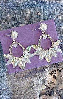 Náušnice - Náušnice s perličkami - 10552871_