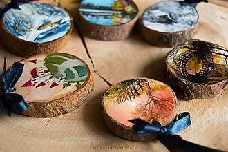 Dekorácie - Mini maľované dekorácie set (kraslice inak) - 10552760_