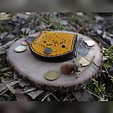 Peňaženky - Drobná kapsička na drobné - 10550953_