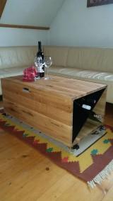 Nábytok - Truhlica vinoteka - 10551322_