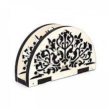 Polotovary - Držiak na servítky - ornament 2 - 10551738_