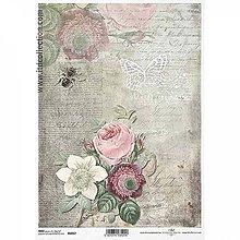 Papier - Ryžový papier R1067 - A4 - 10551976_