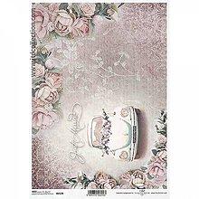 Papier - Ryžový papier R1539 - A4 - 10552113_