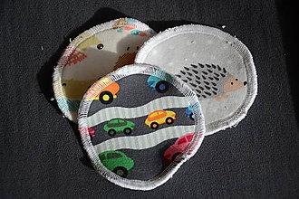 Úžitkový textil - ZERO WASTE ekologické odličovacie tampóny 10ks - 10554530_