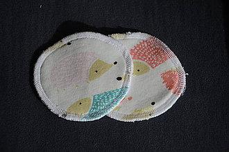 Úžitkový textil - ZERO WASTE ekologické odličovacie tampóny JEŽKO - 10554533_