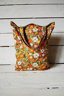 Nákupné tašky - Retro - nákupná taška - 10553886_