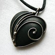 Náhrdelníky - Privesok s onyxom ☼ MAELA ☼ - 10555275_