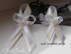 Pierka - svadobné pierko IX - 10554662_